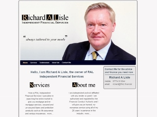 Richard Lisle RAL Independent Financial Services mortgage Holmfirth Huddersfied