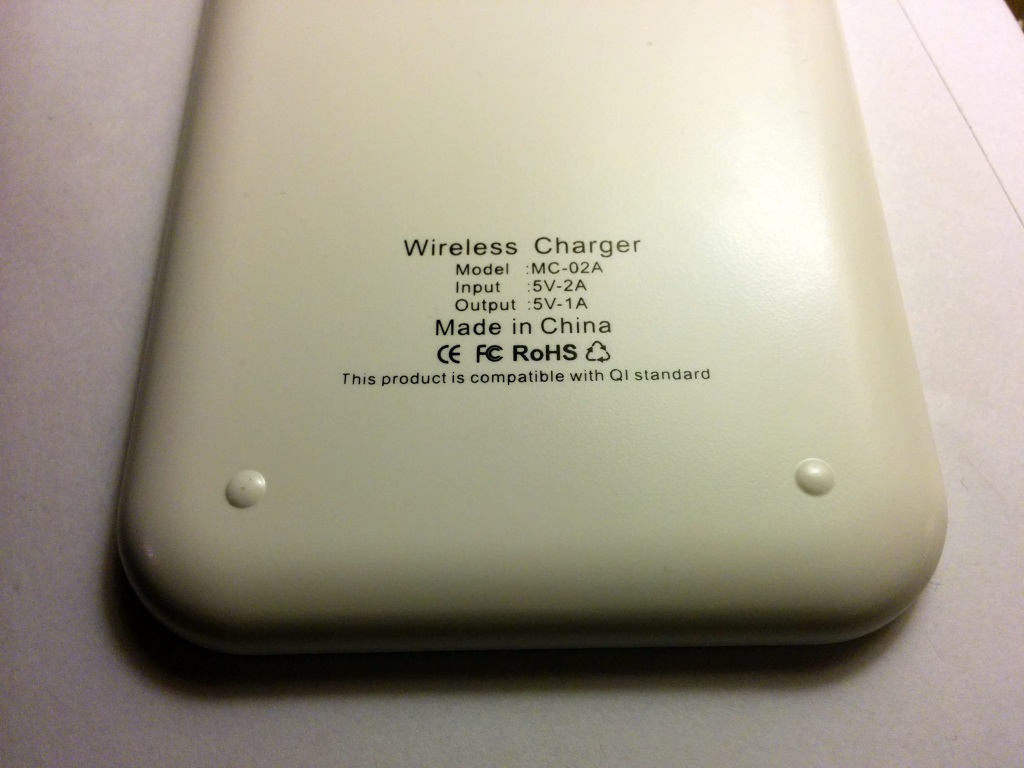 MC-02A QI wireless charger