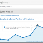 Certificate in Google Analytics Platform Principles
